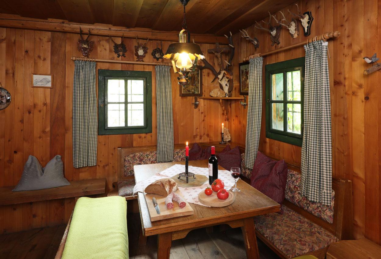 Alm Urlaub Hütte Salzburg Riedingtal
