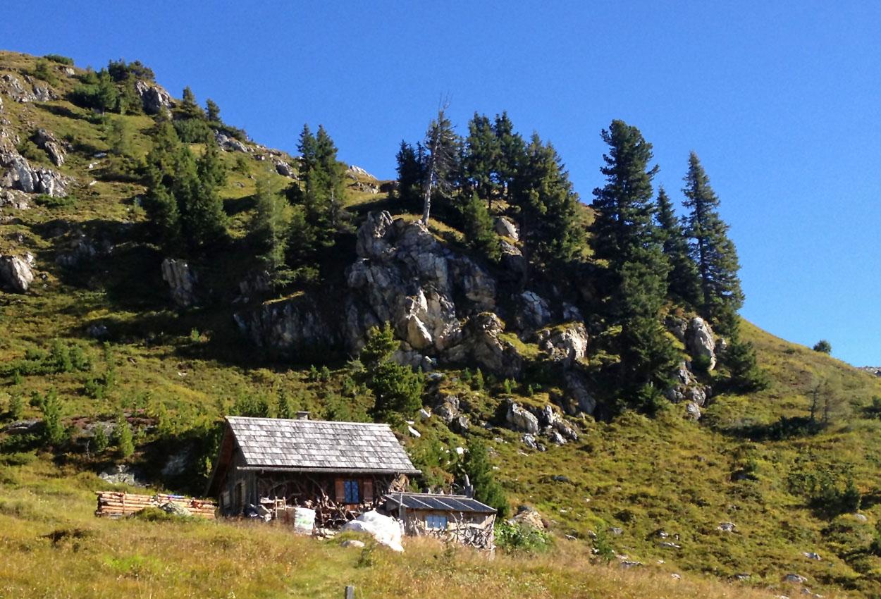 Jagd Hütte Zederhaus Lungau mieten