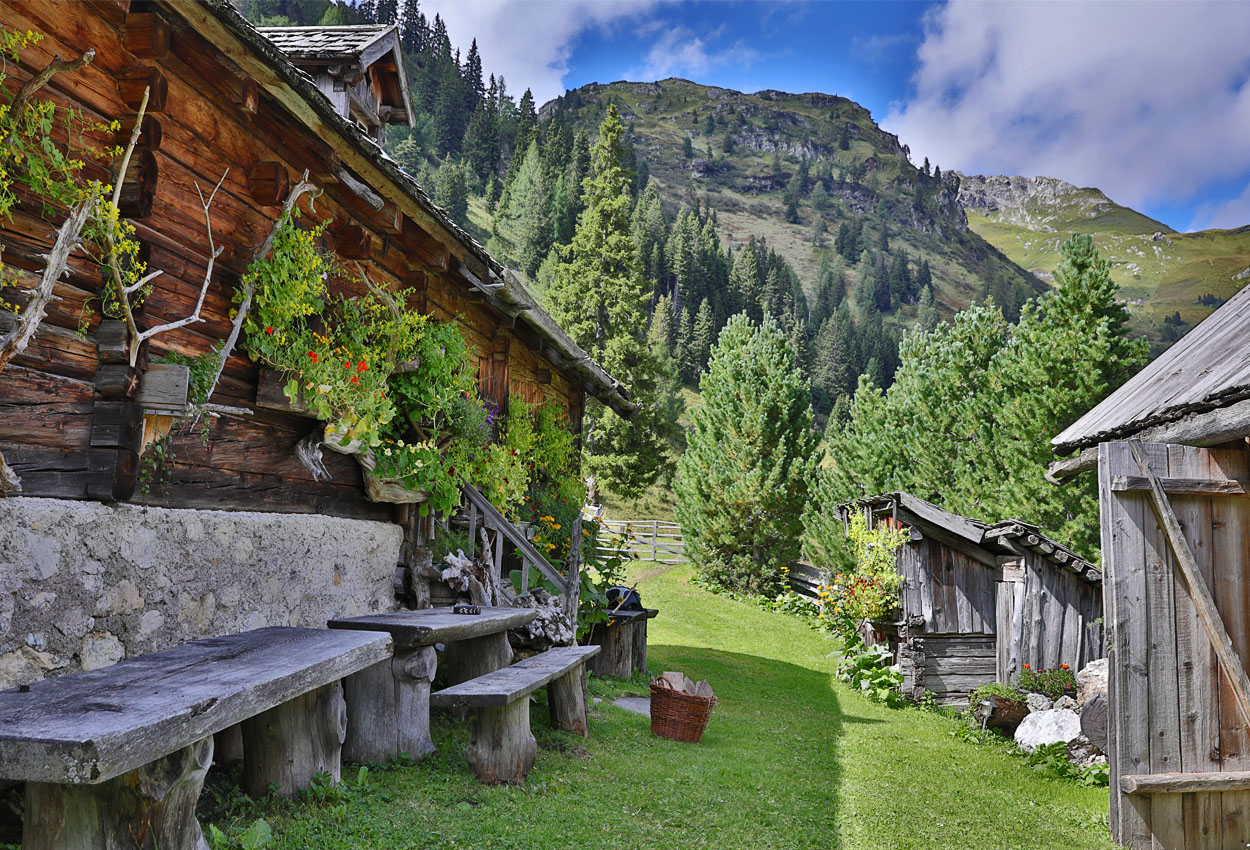 Urlaub Almhütte Lungau Riedingtal
