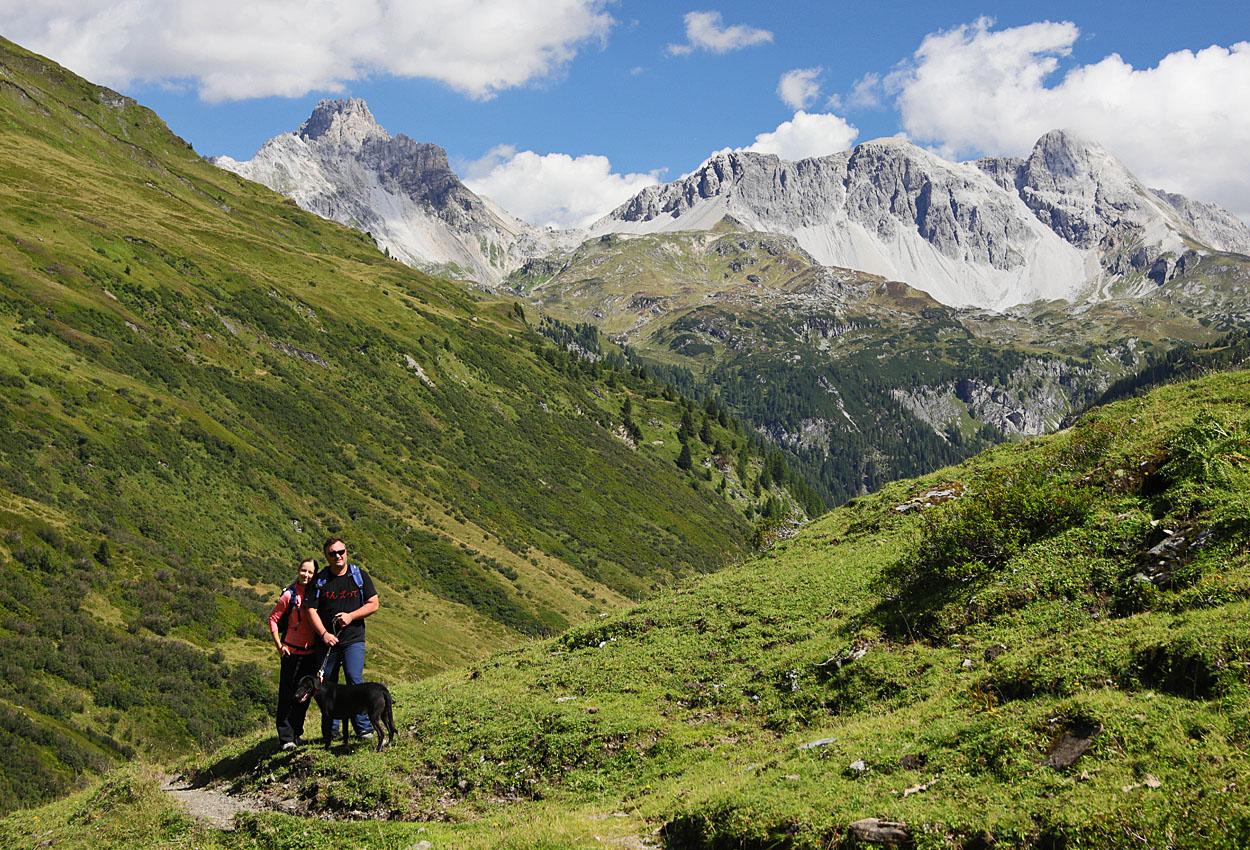 Wandern Urlaub Lungau Riedingtal